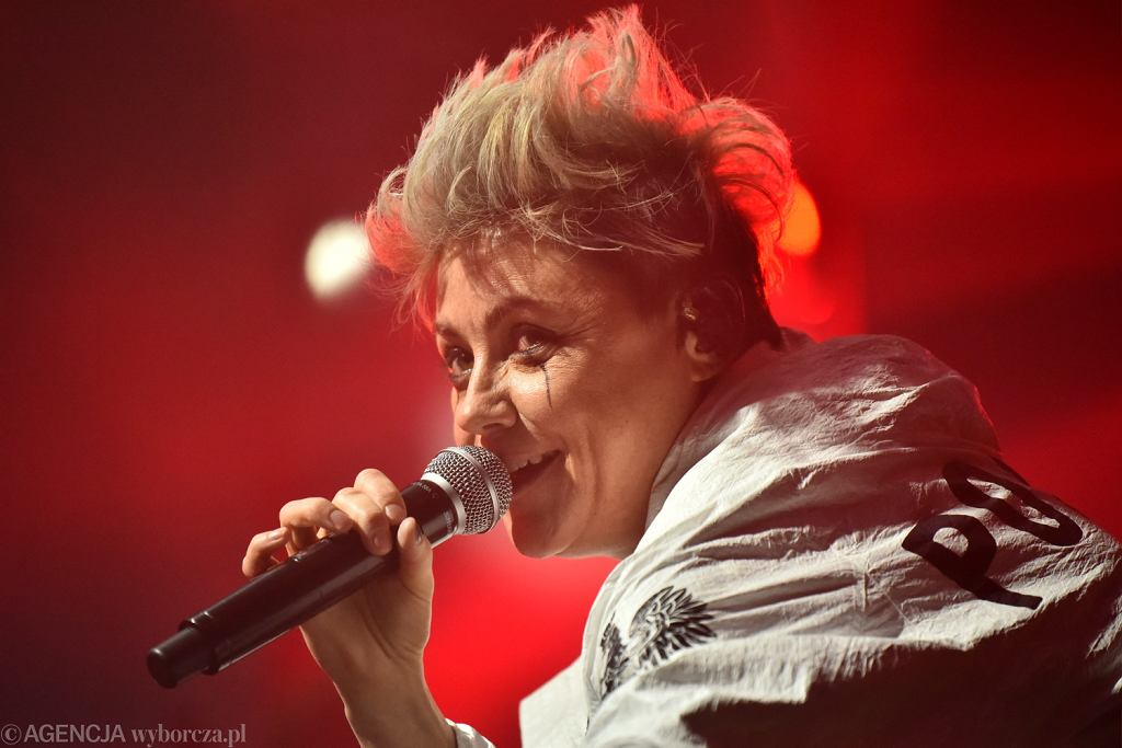 Maria Peszek na Orange Warsaw Festival 2017 w Warszawie / Fot. Franciszek Mazur / Agencja Gazeta