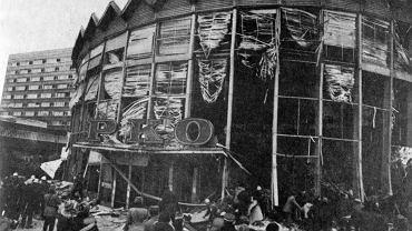 Rotunda po wybuchu, 1979 r.