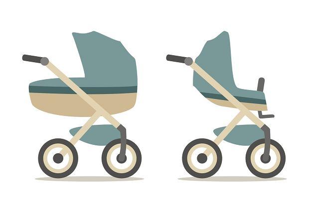 Wózek wielofunkcyjny to taki, do którego stelaża możemy wpiąć zarówno gondolę, siedzisko spacerowe jak i fotelik samochodowy.