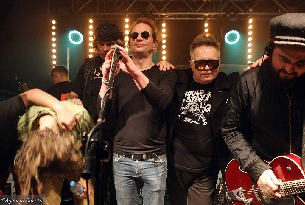 Częstochowa, 5 listopada 2016 r. Teatr from Poland. Koncert T.Love z okazji 53. urodzin Muńka Staszczyka, otwierający trasę promocyjną płyty