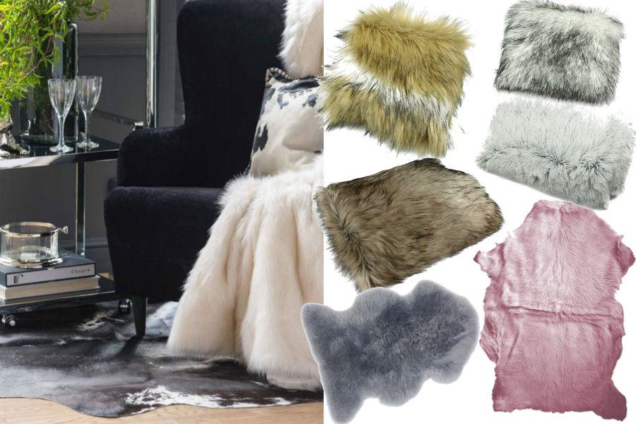 Moda na futrzane tekstylia