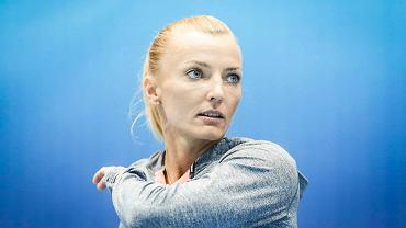 Anna Rogowska podczas treningu w Ergo Arenie
