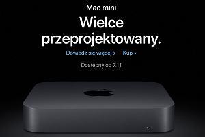 Są polskie ceny nowych urządzeń Apple. Drogo. Za komputer Mac mini zapłacimy nawet 20 tys. zł