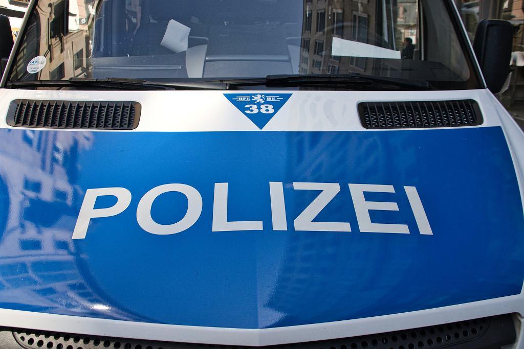 Niemiecka policja (zdjęcie ilustracyjne)