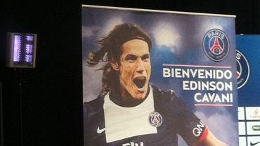 Edinson Cavani nowym piłkarzem PSG