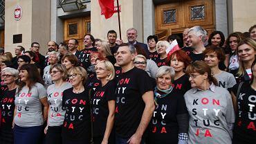 Łódzcy sędziowie na 100-lecie niepodległości.
