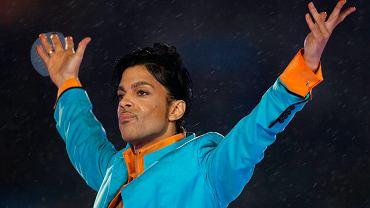 Prince na koncercie podczas finału Superbowl w 2007 roku