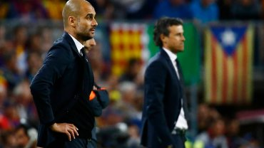 Josep Guardiola i Luis Enrique