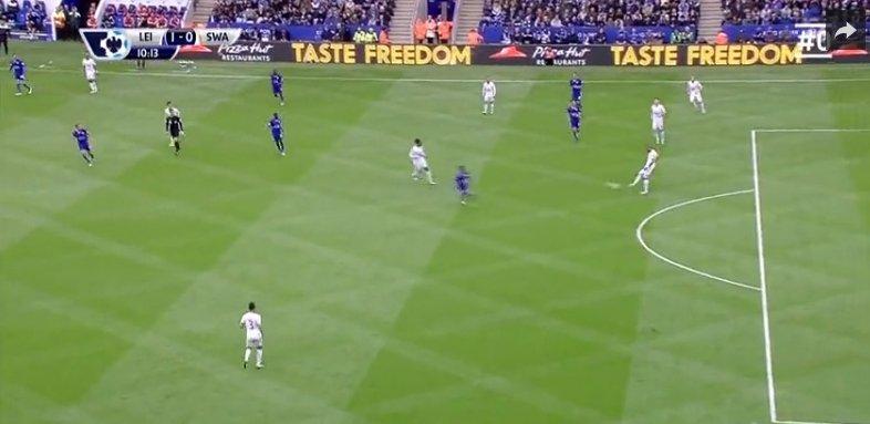 Gol dla Leicester