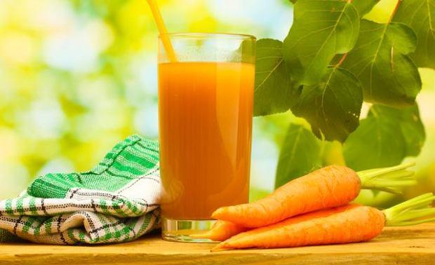 Sok marchwiowy to znakomite źródło przeciwutleniaczy i witaminy A
