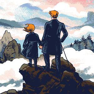 Ojciec może wzmacniać córkę w byciu niegrzeczną dziewczynką, w wychowaniu takiej Pippi Langstrump