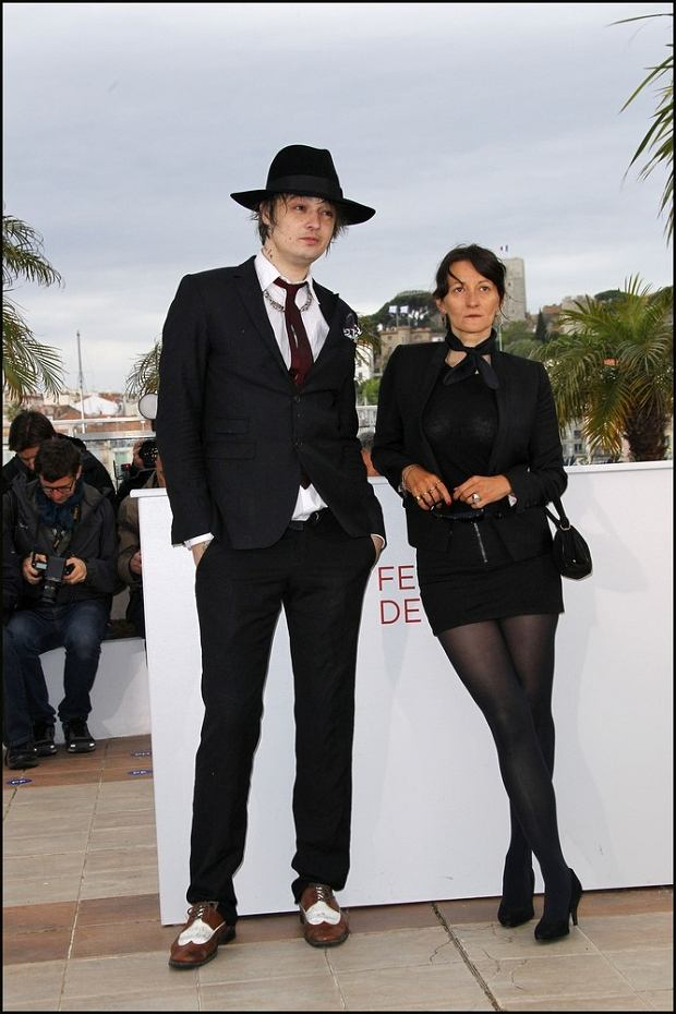 Pete Doherty and Sylvie Verheyde posing at the Confession of a Child of the Century photocall held at the Palais Des Festivals as part of the 65th International Cannes Film Festival at Palais des Festivals in Cannes, France on May 20, 2012. Photo by Ollivier-Calo/MF/ABACAPRESS.COM  # 321012_022