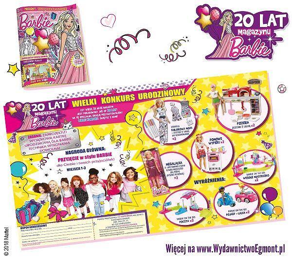 Magazyn Barbie - już 20 lat z czytelniczkami