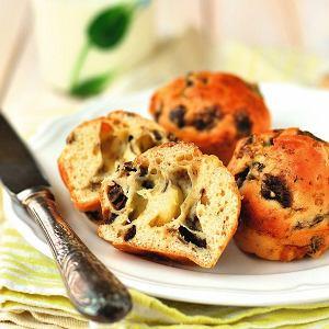 Muffinki grzybowe