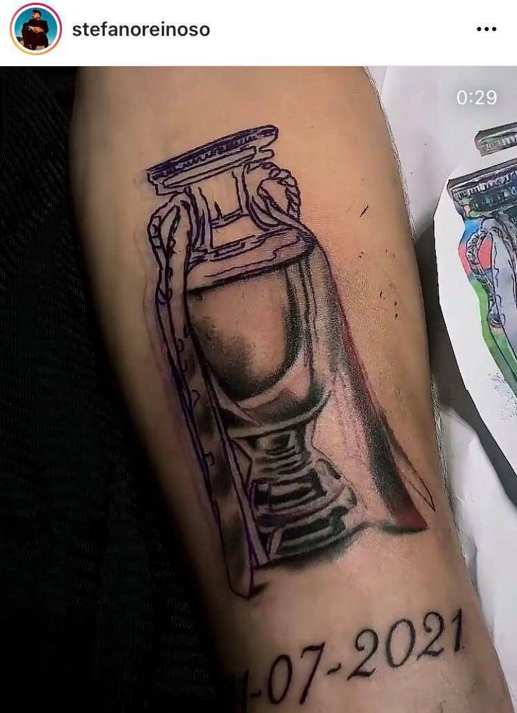 Nowy tatuaż Gianluigiego Donnarummy