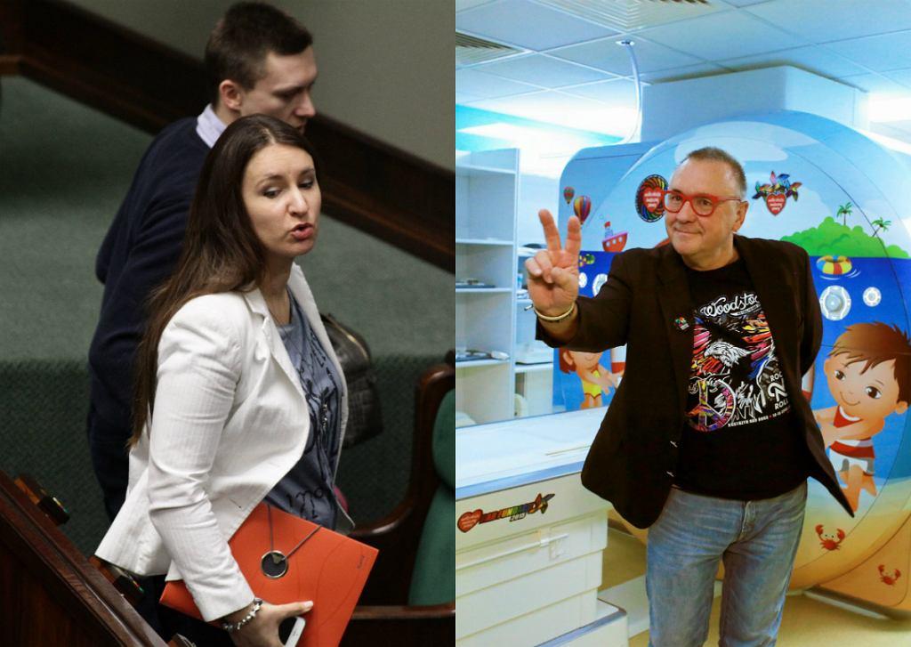 Karolina i Tomasz Elbanowscy, Jerzy Owsiak