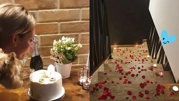 """""""Ślub od pierwszego wejrzenia"""". Kamil przygotował dla Izy urodzinową niespodziankę. Ale z niego romantyk!"""