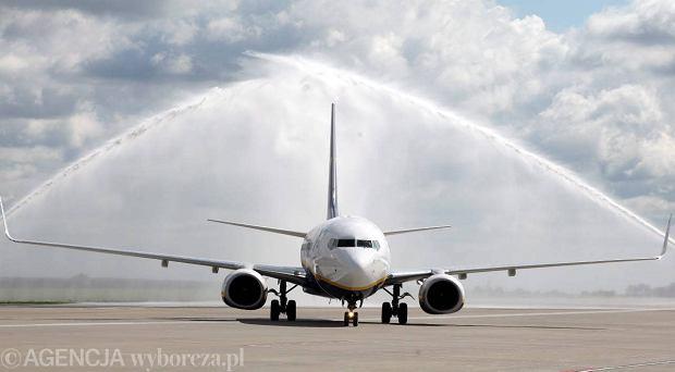 Modlin: Ryanair uruchamia połączenie. Prokurator umarza śledztwo