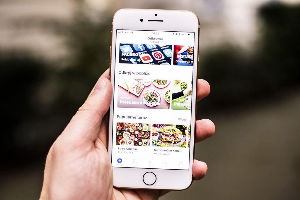 Aplikacja do zamawiania jedzenia Wolt