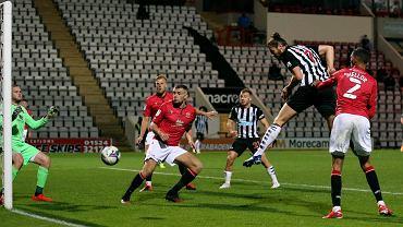 Mecz Morecambe - Newcastle United w Pucharze Ligi Angielskiej