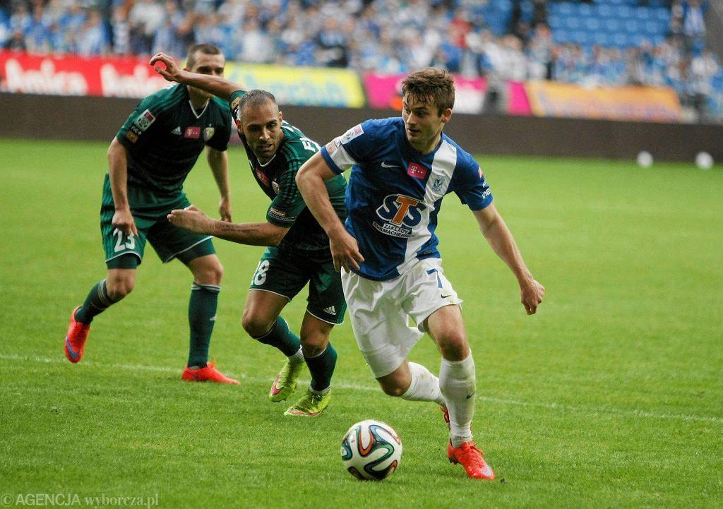 Lech Poznań - Śląsk Wrocław 3:0. Karol Linetty