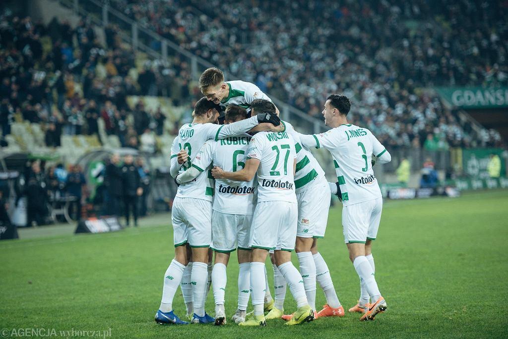 Piłkarze Lechii mają powody do radości