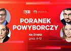 """Jacek Kurski na zdjęciu z politykami PiS w wieczór wyborczy. """"Drugą kadencję PiS zaczyna od błędu"""""""