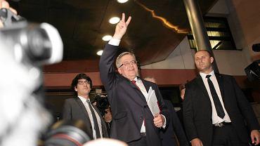 Bronisław Komorowski po debacie w TVN