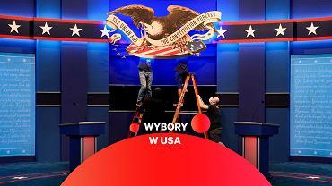 Przygotowania do pierwszej debaty Joe Bidena i Donalda Trumpa