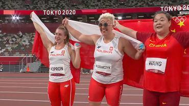 Anita Włodarczyk ze złotem, Malwina Kopron z brązem igrzysk olimpijskich!