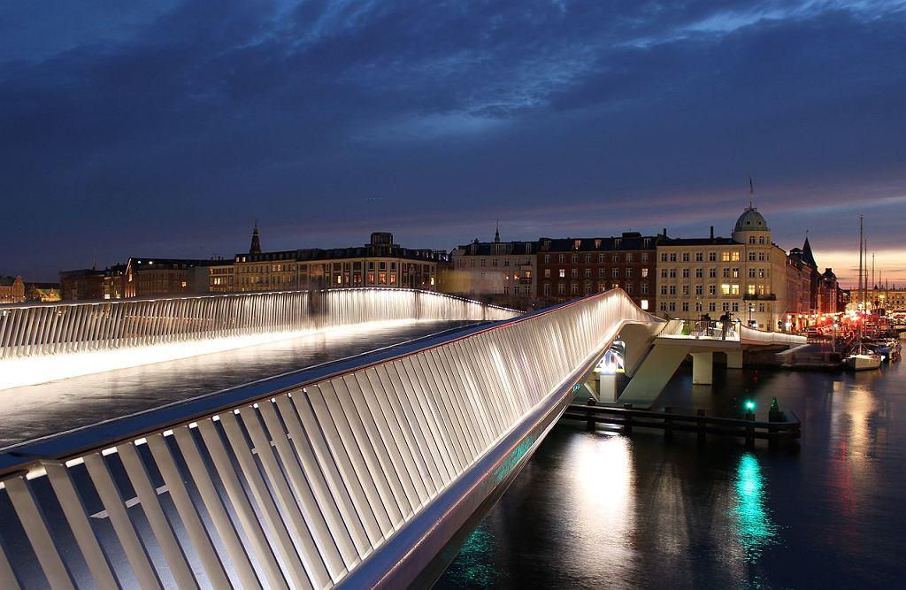 Most Inderhavnsbroen w Kopenhadze
