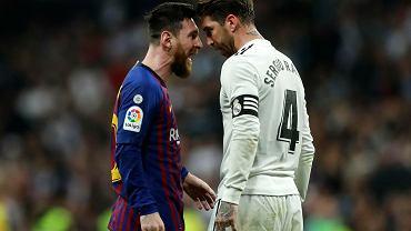 Leo Messi i Sergio Ramos, kapitanowie Barcelony i Realu Madryt