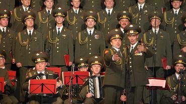 26.10.2004, Chór Aleksandrowa na występie w Lublinie.