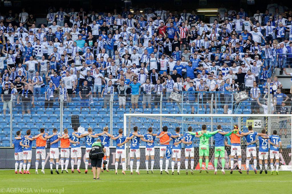 Lech Poznań po meczu z Legią Warszawa