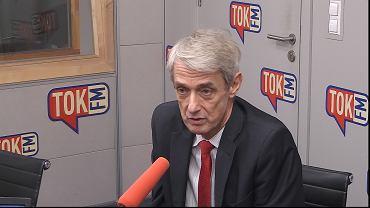Michał Laskowski, sędzia i rzecznik SN, w studiu TOK FM.