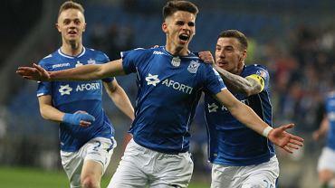 Filip Marchwiński strzelił zwycięskiego gola w meczu z Legią Warszawa