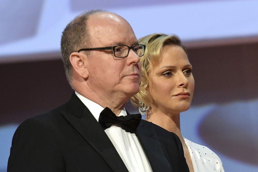 Książę Albert z żoną
