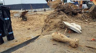 Na terenie szkoły w Żorach odkryto pocisk moździerzowy z czasów II wojny światowej.