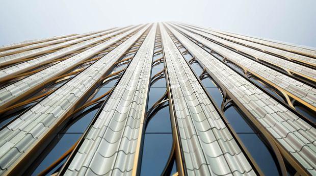 Wizualizacja fasady budynku