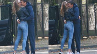 Jarosław Bieniuk pierwszy raz przyłapany na czułościach z Zuzanną Pactwą. Całował ją na środku ulicy!