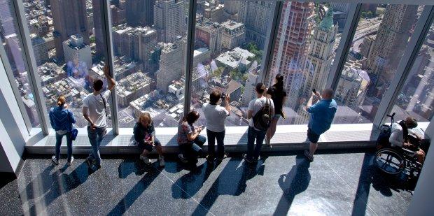 Zdjęcie numer 0 w galerii - Następca World Trade Center otwarty dla zwiedzających