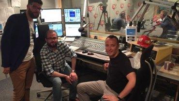 Adam Ozga, Kamil Wróblewski i Paweł Zalewski (z prawej)