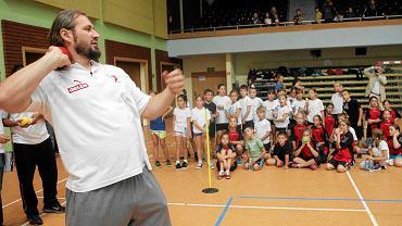 Tomasz Majewski podczas Athletics Camp
