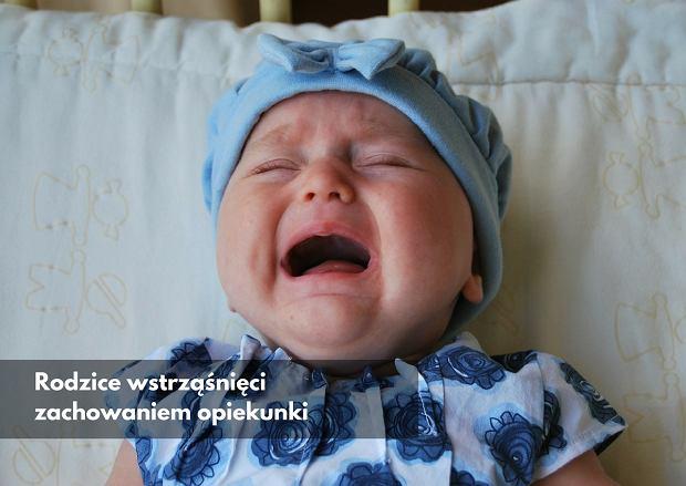 c719d84c Niania poniża i straszy 13-miesięczne dziecko, prokuratura umarza. Rodzice  przysłali nam nagranie