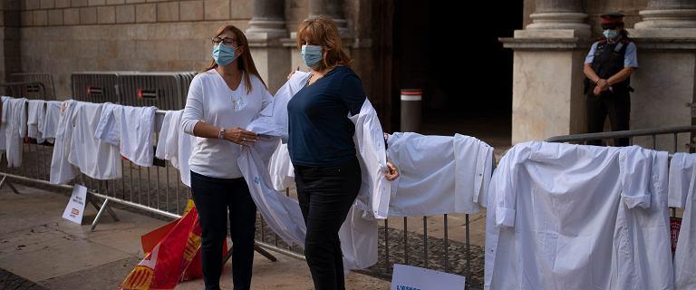 Hiszpania. Pierwszy strajk lekarzy od 25 lat. Od łóżek odeszło 85 proc.