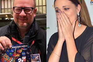 Paweł Adamowicz i Dominika Gawęda z Blue Cafe