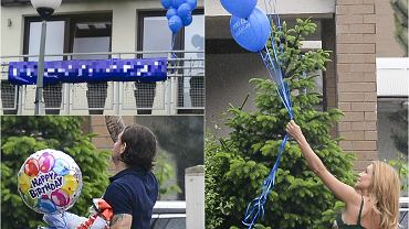 Małgorzata Rozenek 1 czerwca skończyła 38 lat. Zakochany w niej po uszy Radosław Majdan przygotowała dla ukochanej niezwykłą niespodziankę. W progu powitało ją mnóstwo balonów. Najciekawsze jednak zobaczyła, kiedy spojrzała na balkon.