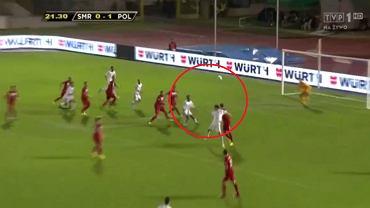 Gol dla San Marino w meczu z Polską, 10.09.2013