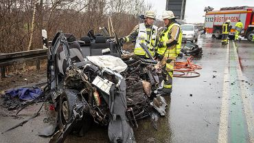 Niemcy. Polacy zginęli w wypadku w Bocholt
