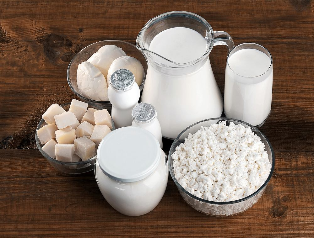 W diecie FODMAP nalezy zrezygnować m.in z produktów mlecznych